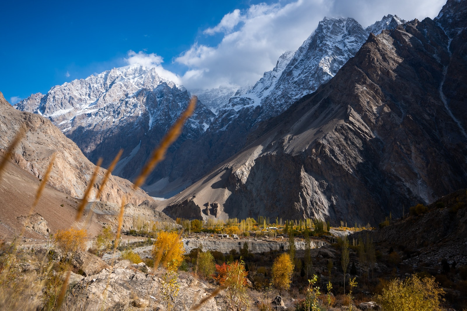 Autumn in Khyber, Gilgit Baltistan, Pakistan