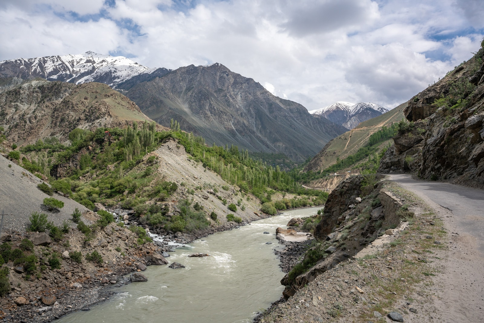 The road to Astore, Pakistan