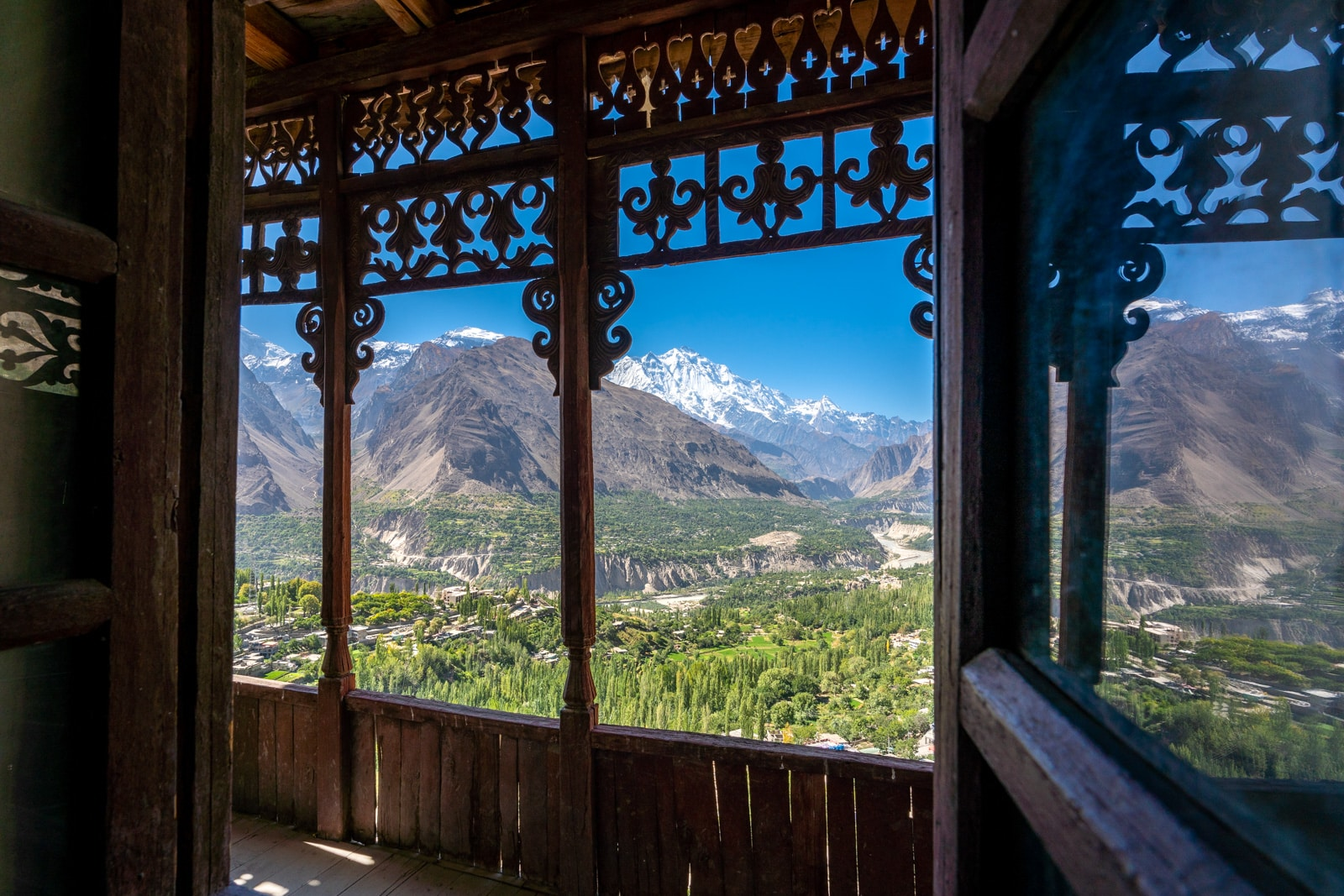Travel tips for Pakistan - View of Hunza from Baltit Fort