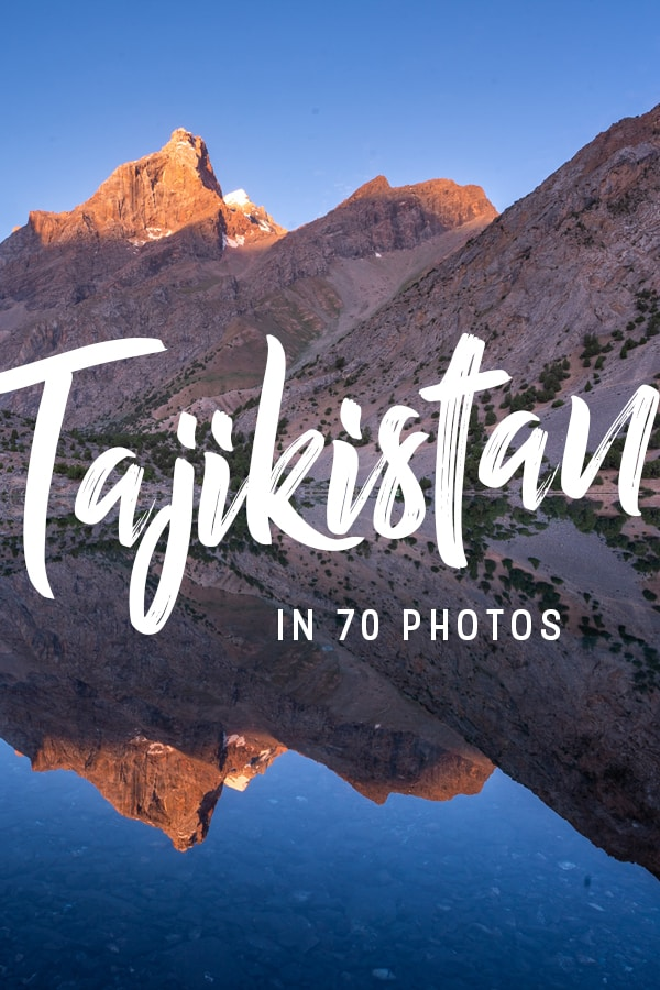 Traveling to Tajikistan is guaranteed to be an off the beaten track Central Asian adventure—let these photos of Tajikistan convince you. Click through for a photo guide to Western Tajikistan, including Tajikistan's Fann Mountains, Dushanbe, and various lake treks and historical places in Tajikistan.