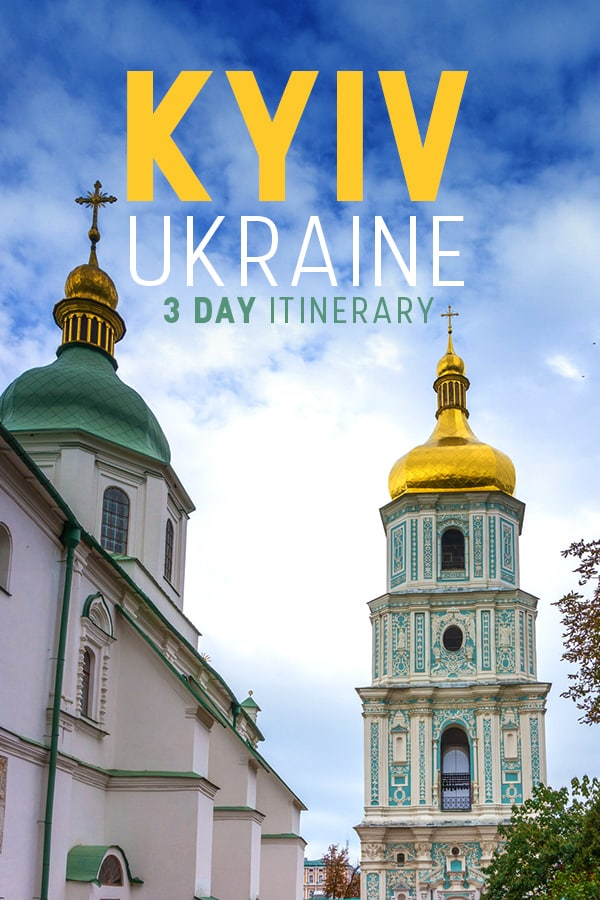 Traveling to Kyiv, Ukraine? This 3-day itinerary for Ukraine's capital has everything a traveler needs, from accommodation recommendations to the hippest bars and cafes to things you need to do in Kyiv (Kiev) and more! Read on to plan the perfect three days in Ukraine's best city.