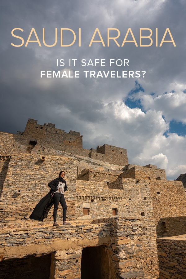 Is Saudi Arabia safe for female travelers? I'd say so! This female travel guide to Saudi Arabia answers all your travel questions about Saudi Arabia, and includes tips for women on how to stay safe while independently traveling around the Kingdom of Saudi Arabia.