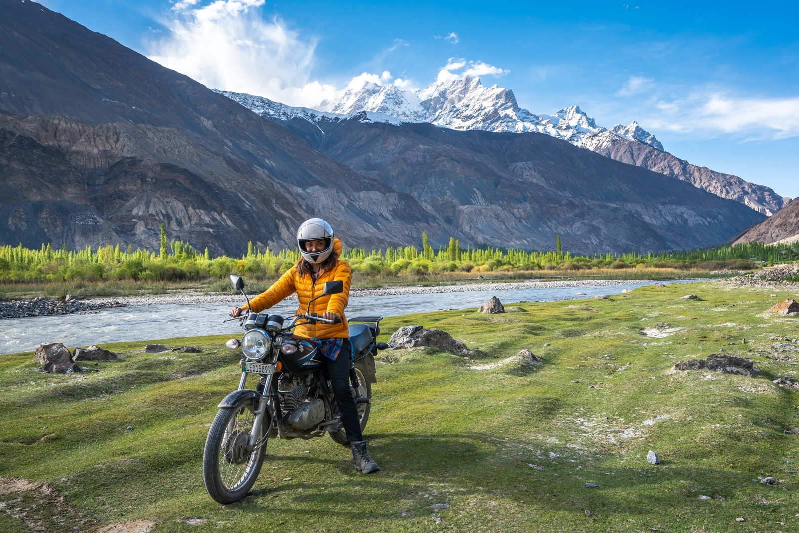 Motorbiking in Yasin Valley, Ghizer, Pakistan