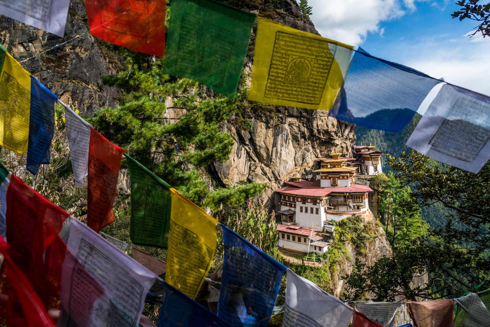 Tiger's Nest Monastery in Paro
