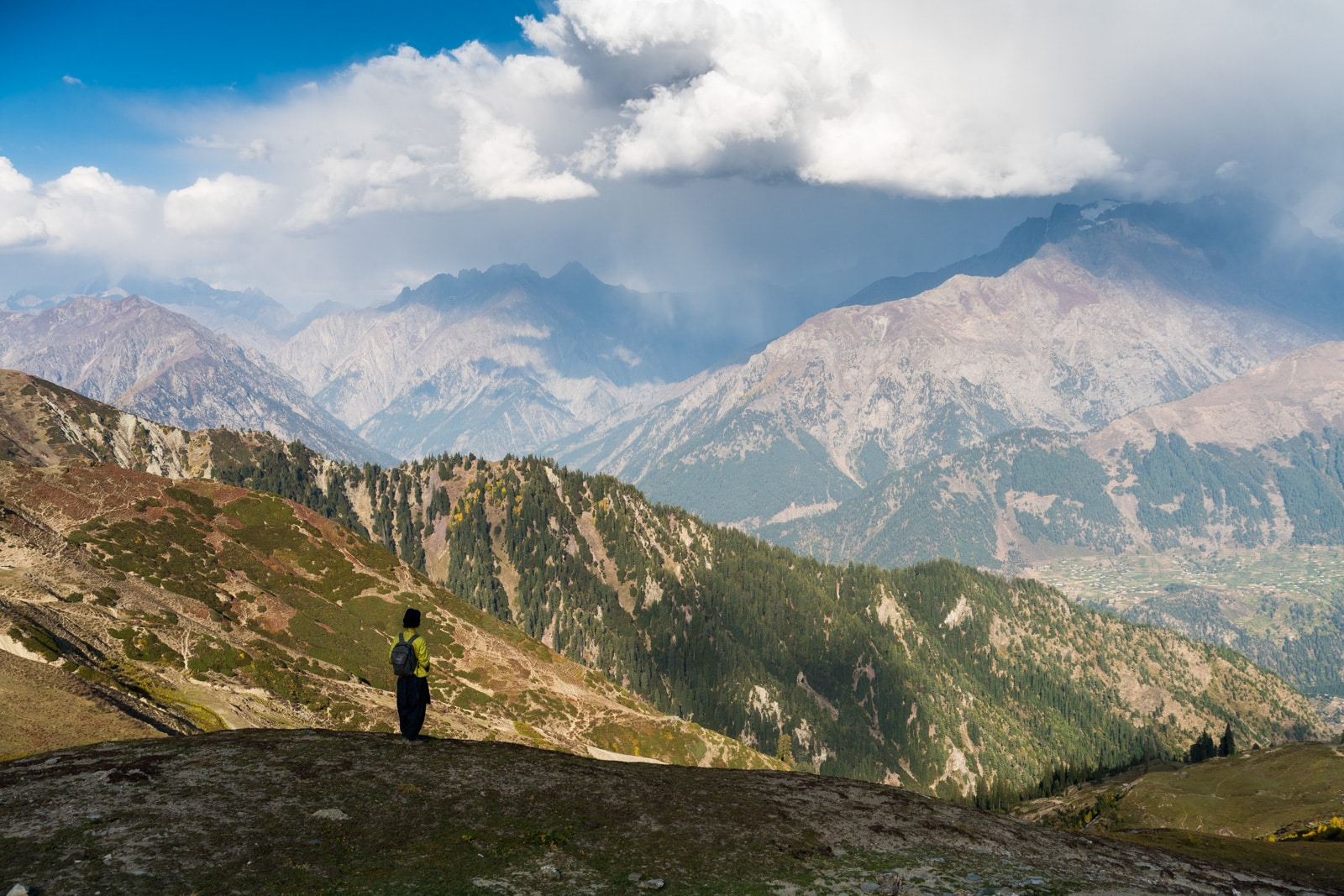 Trekking in Pakistan in Kalam, Swat Valley, Khyber Pakhtunkhwa