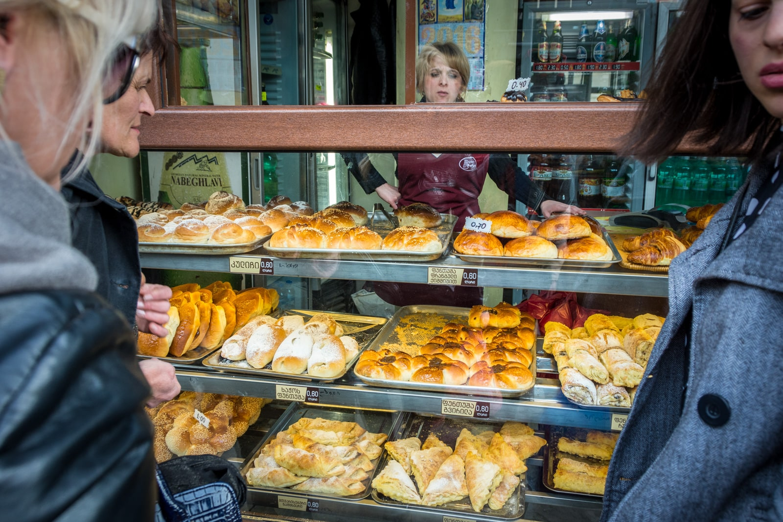 Georgian pastries for sale in Tbilisi, Georgia