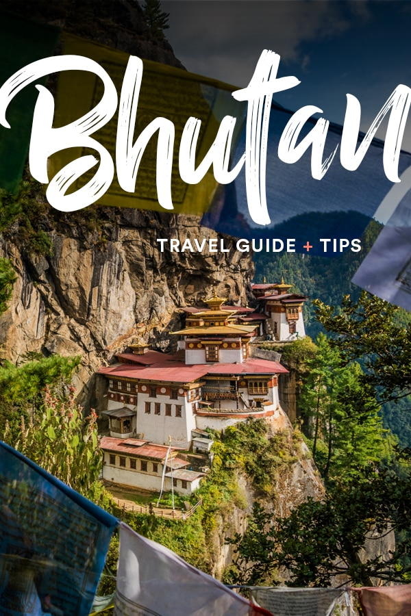Traveling to Bhutan? This travel guide has all the tips you need to plan your trip to Bhutan. Includes advice on what to wear in Bhutan, religion and culture in Bhutan, how much it costs to travel in Bhutan, information on visas in Bhutan, and more. Click through to learn what you need to visit Bhutan. #Bhutan #Travel #TravelGuide
