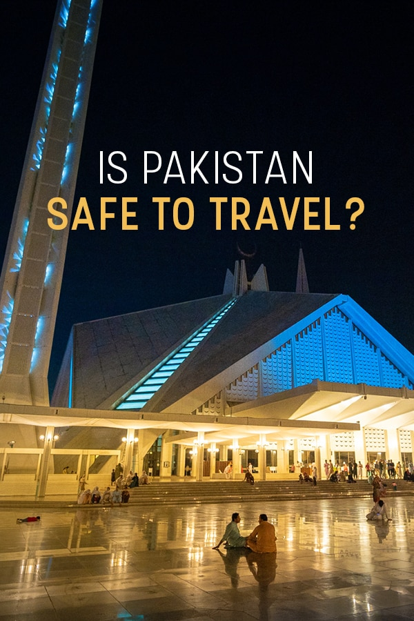 Is Pakistan safe for travel? After almost one year of both couple and solo female travel in Pakistan, here's my firsthand opinion on whether or not it's safe to travel Pakistan. Includes tips for the safest places to visit in Pakistan, safety advice for Pakistan, caution for the most dangerous places in Pakistan, and more. Click through for all the information you need to stay safe in Pakistan. #Pakistan #travel #safety