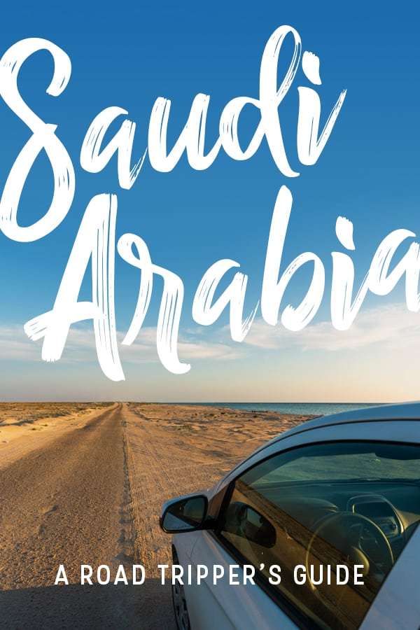 Want to travel Saudi Arabia? You're gonna need a car. Renting a car is the best way to travel around Saudi Arabia, and road tripping Saudi Arabia is the best way to get off the beaten track and explore Saudi Arabia properly. This travel guide includes all the information you need to rent a car in Saudi Arabia, road trip itineraries, information on women driving, travel advice, and more. Click through for the ultimate guide on road tripping in Saudi Arabia. #SaudiArabia #roadtrip #travelguide