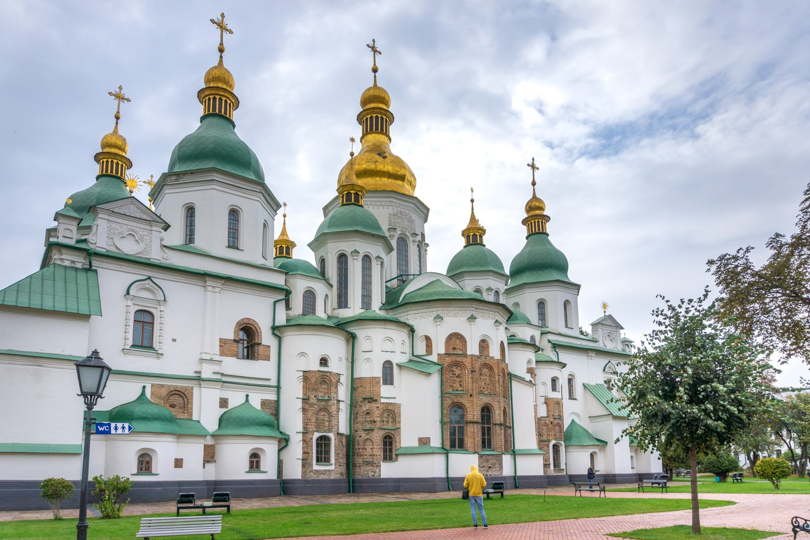 Saint Sophia cathedral in Kyiv, Ukraine