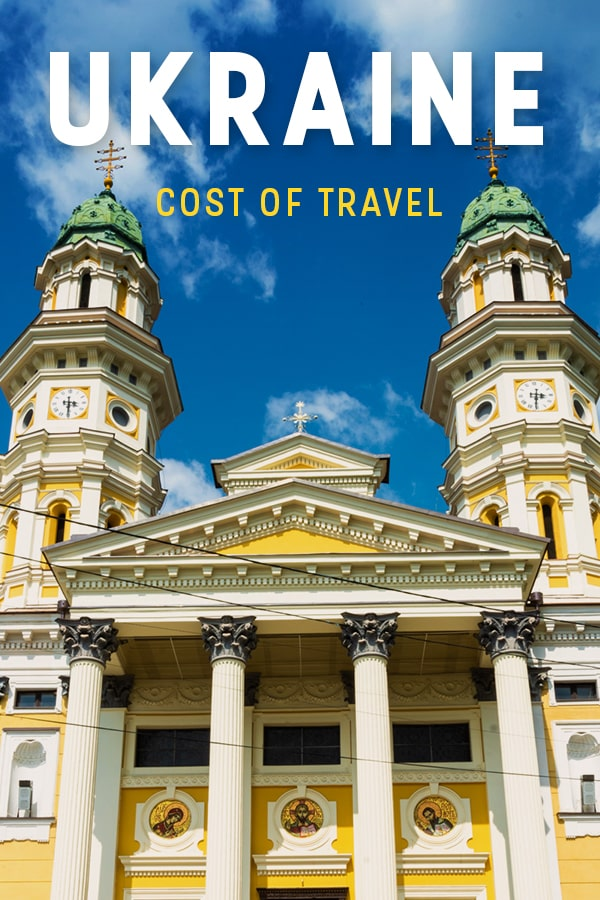Planning a trip to Ukraine? You need to know how much you'll spend! Here's how much it costs to travel in Ukraine, both on a backpacker budget and a luxury budget, with information on accommodation, food, drinks, and transportation in Ukraine. Click through to learn how much money you need to travel in Ukraine! #Ukraine #EasternEurope #Travel #backpacking