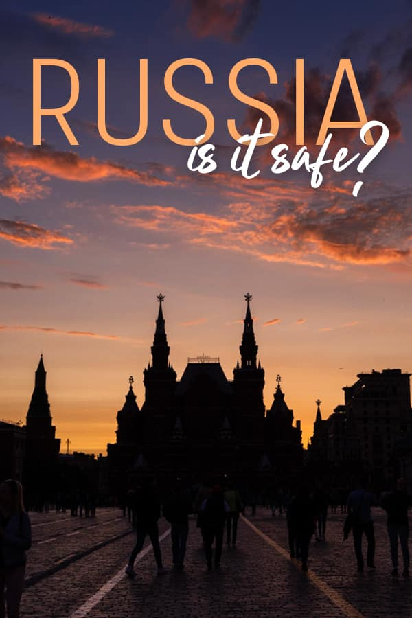 Is it safe to travel in Russia? As an American solo female traveler who spent weeks in Russia, I think Russia is safe enough for traveling. Read on for more safety information about Russia, safety tips for Russia travel, and more resources to plan a safe vacation in Russia. #Safety #Russia #Travel