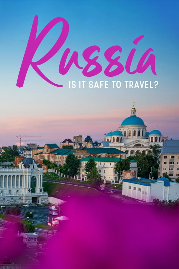 Is Russia safe to travel? If you're planning a trip to Russia, it's fair to wonder: is Russia safe? Here are thoughts on safety in Russia from a solo female traveler who traveled in Russia for more than one month. Click through for information on safety in Russia, things to watch out for, and tips for staying safe in Russia. #Russia #Travel #Safety