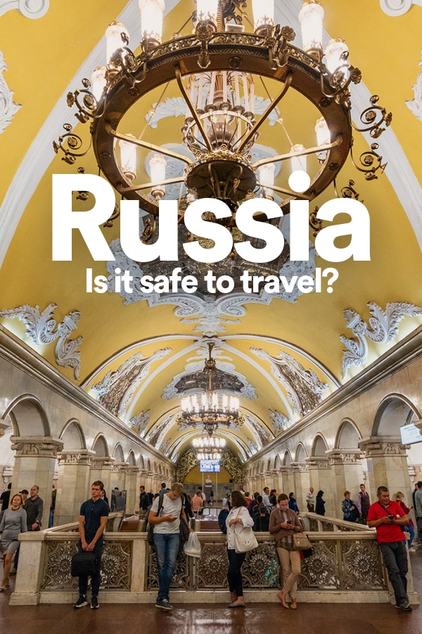 Is Russia safe to travel? If you're planning a trip to Russia, it's fair to wonder: is Russia safe? Here are thoughts on safety in Russia from a solo female traveler who traveled in Russia for more than one month. Click through for information on safety in Russia, things to watch out for, and tips for staying safe in Russia. #RussiaTravel #SafetyTips