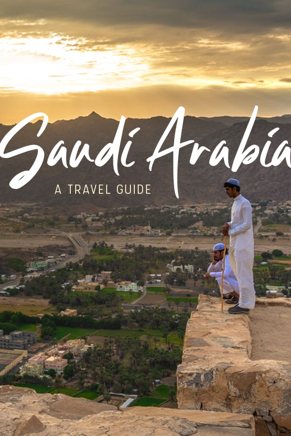Planning a trip to Saudi Arabia? This Saudi Arabia travel guide by a female traveler has everything you need to know: how to get a Saudi tourist visa, cultural tips, advice on what to wear, safety tips for traveling Saudi Arabia, and more. Click through for the ultimate Saudi Arabia travel guide! #SaudiArabia #KSA #MiddleEast #Travel