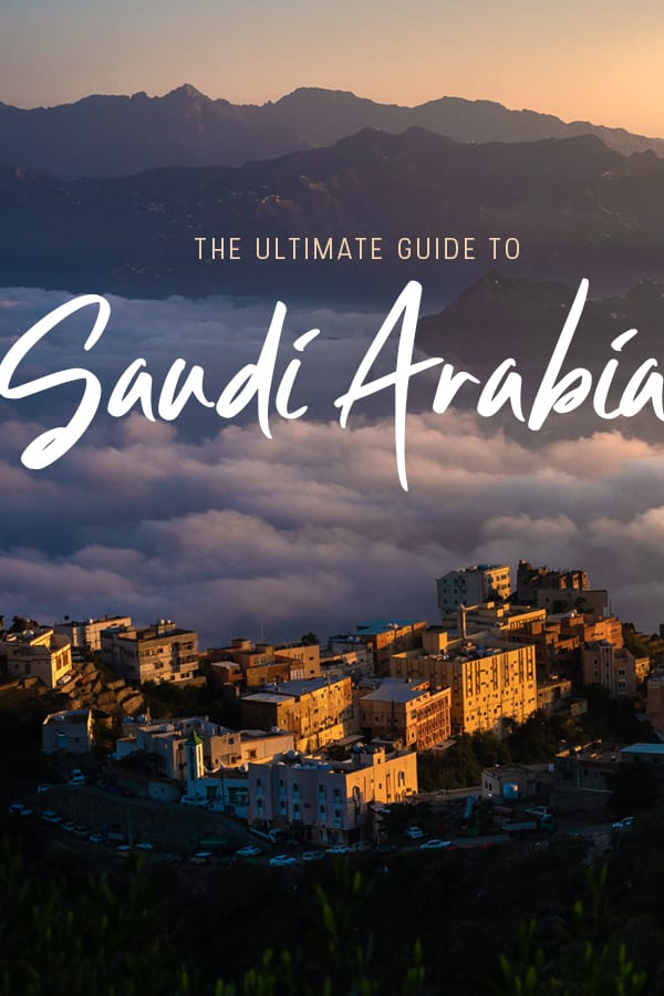 Want to travel to Saudi Arabia? One of the Middle East's least-traveled countries is now open to many nationalities. This Saudi Arabia travel guide has everything you need to plan, from budget travel tips to traveling as a vegetarian or vegan to the best ways to travel between cities... and more! #SaudiArabia #MiddleEast #KSA #Travel