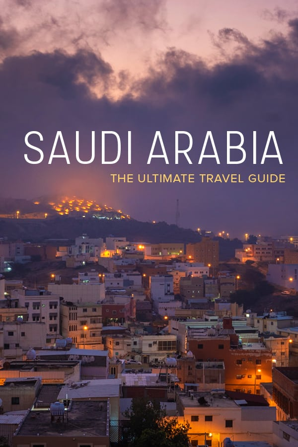 Want to travel to Saudi Arabia? One of the Middle East's least-traveled countries is now open to many nationalities. This Saudi Arabia travel guide has everything you need to plan your trip including cultural tips, food advice, female travel tips, costs of travel, and more! #SaudiArabia #MiddleEast #KSA #Travel