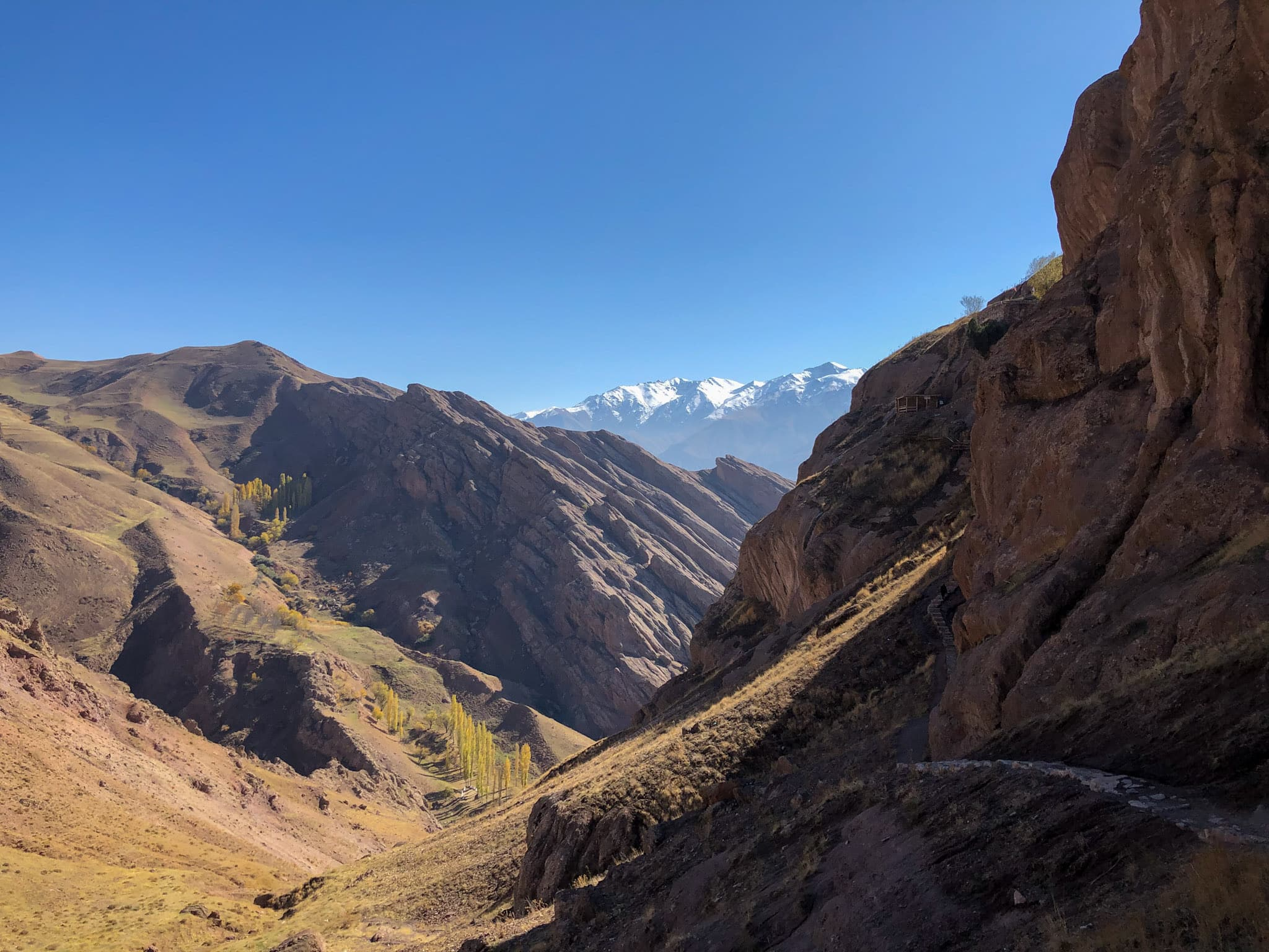 Alamut Valley in northern Iran