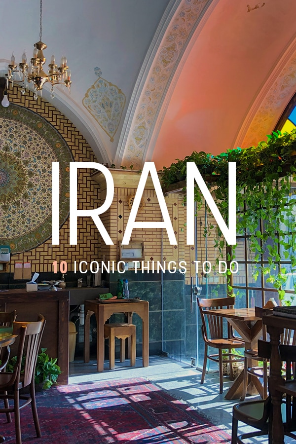 Traveling to Iran? Here are some epic things to do in Iran perfect for backpackers and budget travelers, including the Kashan bazaar, Isfahan's famous central square, beautiful mosques, and more. Click through for a list of top things to do in Iran. #Iran #Travel #TravelIran