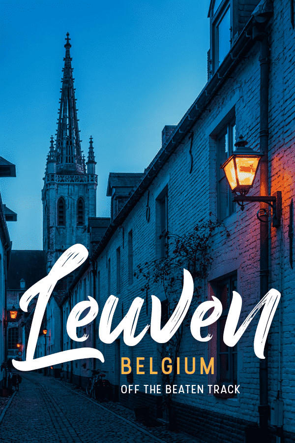 Looking for a unique list of things to do in Leuven, Belgium? This university city in Flemish-Brabant has more things to do than just the central square and library! Click through for a list of offbeat things to do in Leuven from a sort-of local.