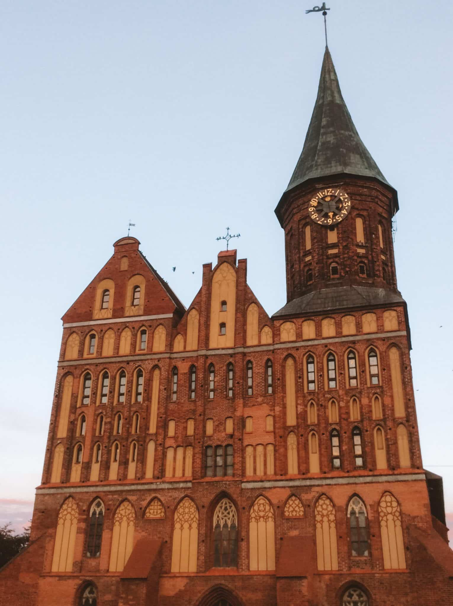 Konigsberg Cathedral in Kaliningrad, Russia