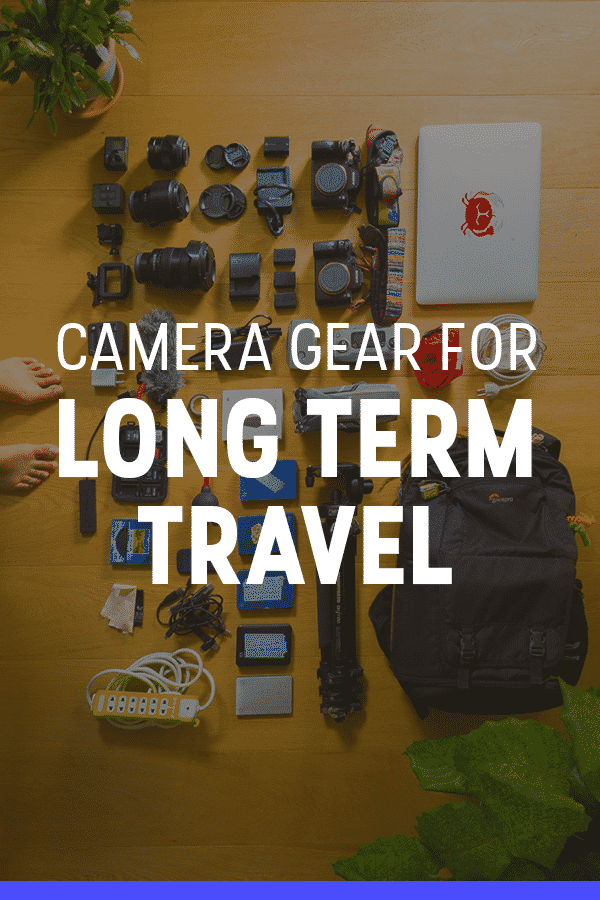 A packing list for photography gear, including the best cameras, lenses, tripod, and camera bags for travel. I personally use and carry all of this photography gear while traveling full-time as a travel blogger and photographer. Click to find out what I recommend!