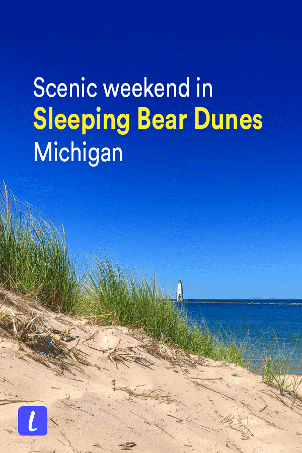 A weekend guide to one of the most beautiful places in Michigan: Sleeping Bear Dunes. This travel guide has all the tips you need to travel to Sleeping Bear Dunes, including best places to stay, things to do, best time of year to visit, and more.