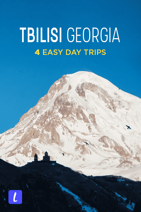 Looking for easy day trips from Tbilisi, Georgia? From wine tasting in Kakheti to the desert landscapes of David Gareja monastery, these are some of the best day trips from Tbilisi, Georgia. Includes tips on how to travel by public transport, guided tour recommendations, things to do, and more.